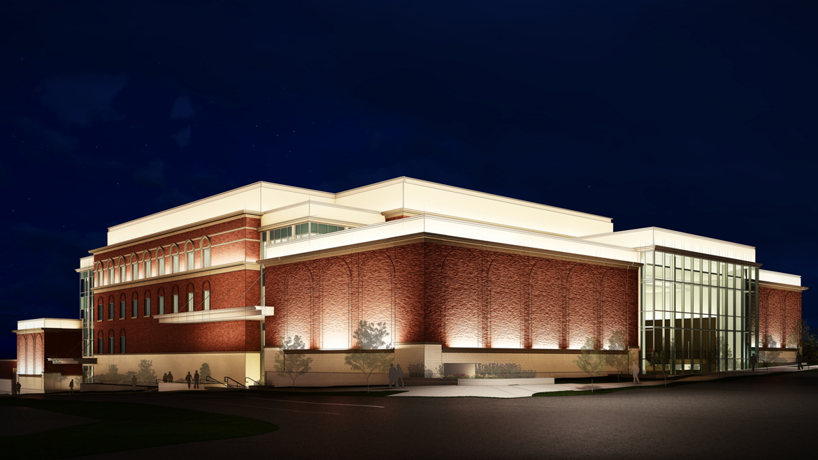 Brigham Young University (BYU) New Music Building